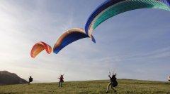 Обучение полетам на параплане Черногория