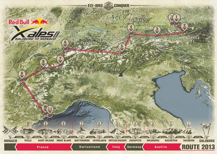 Red-Bull-X-Alps-Route-2013 700