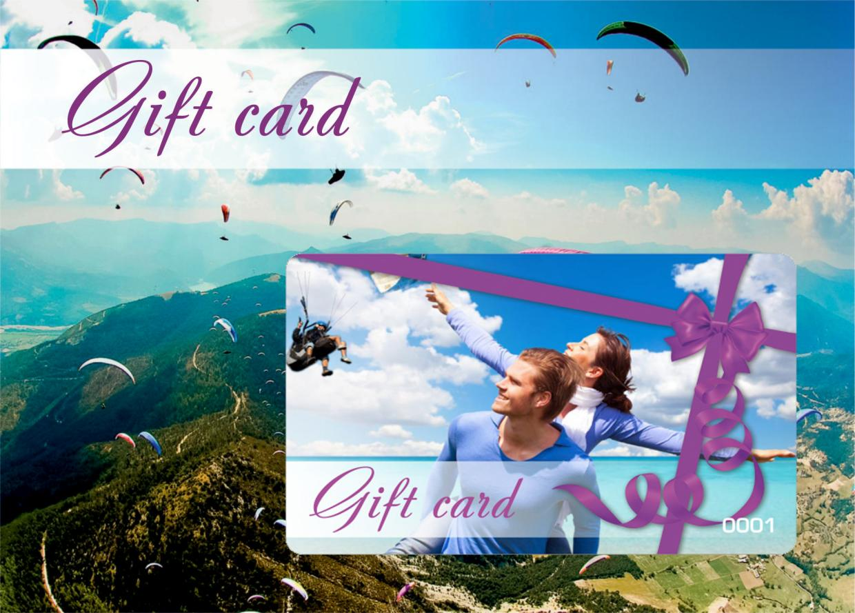 Gigt card - Unlimited happiness as a gift for any reason