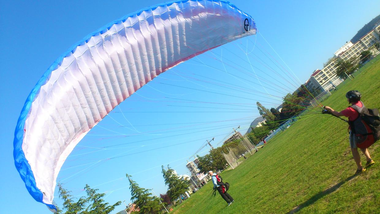 Paragliding training beginner course