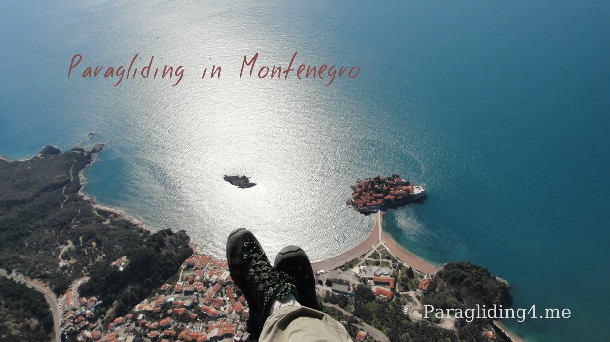 Welcome to paragliding in Montenegro
