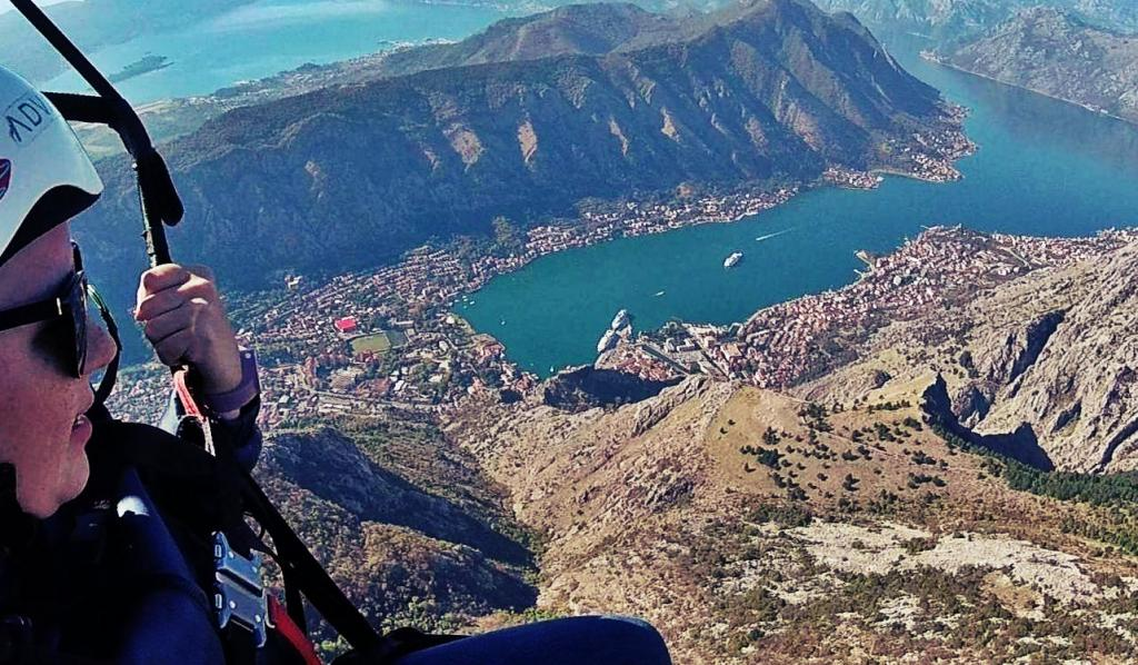 Paragliding Montenegro - Kotor bay big air adventure