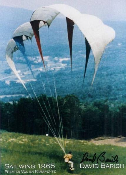 From the history of the paraglider